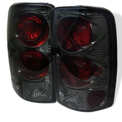 chevy tahoe 2000 2006 smoked tail lights a1034136110. Black Bedroom Furniture Sets. Home Design Ideas