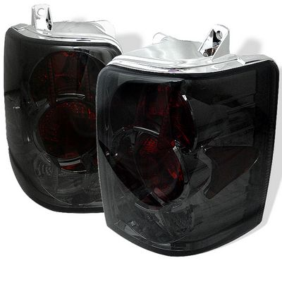 Jeep Grand Cherokee 1993-1998 Smoked Altezza Tail Lights
