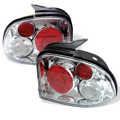 Dodge Neon 1995-1999 Clear Altezza Tail Lights