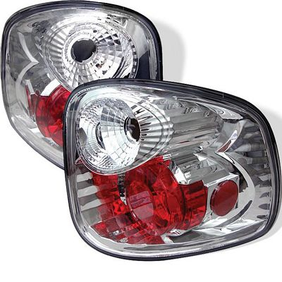 Ford F150 2001-2003 Clear Stepside Altezza Tail Lights