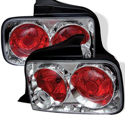 Ford Mustang 2005-2009 Clear Altezza Tail Lights
