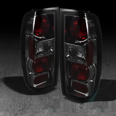 Nissan Frontier 1998 2004 Smoked Altezza Tail Lights