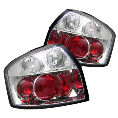 Audi A4 2002-2005 Clear Altezza Tail Lights