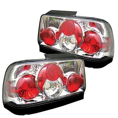 Toyota Corolla 1996-1997 Clear Altezza Tail Lights