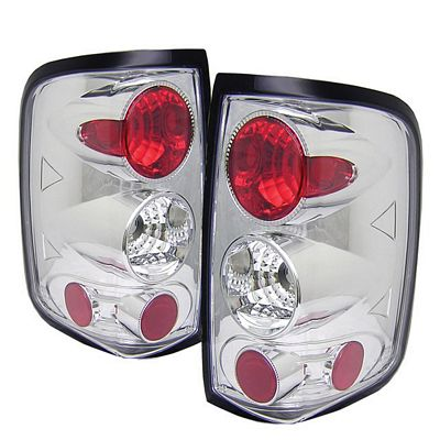 Ford F150 2004-2008 Clear Altezza Tail Lights