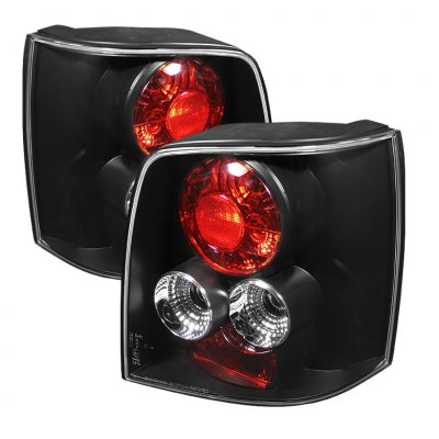 VW Passat Hatchback 1997-2000 Black Altezza Tail Lights
