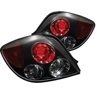 Hyundai Tiburon 2003-2005 Black Altezza Tail Lights