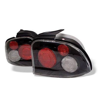 Dodge Neon 1995-1999 Black Altezza Tail Lights