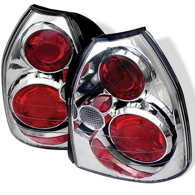 Honda Civic Hatchback 1996-2000 Clear Altezza Tail Lights