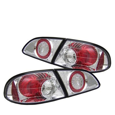 Toyota Corolla 1998-2002 Clear Altezza Tail Lights