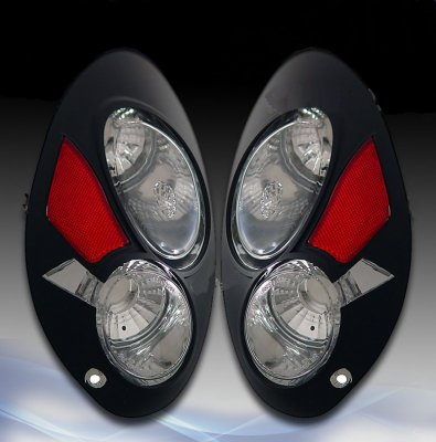 Chrysler Pt Cruiser 2001 2005 Black Custom Tail Lights A117wn2t110 Topgearautosport