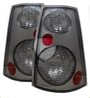 Ford Explorer Sport Trac 2001 2005 Smoked Custom Tail Lights