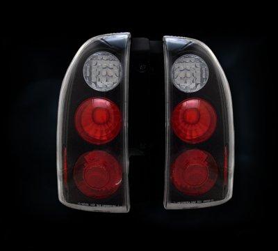 Suzuki Grand Vitara 1999 2004 Black Custom Tail Lights