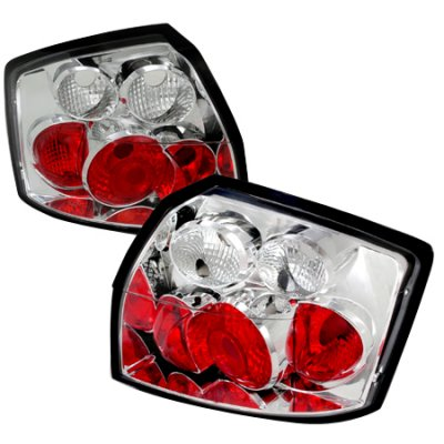 Audi S4 2002-2005 Clear Altezza Tail Lights