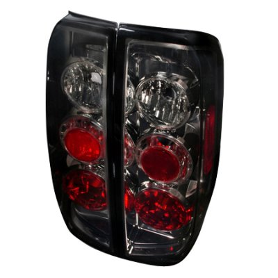 Nissan Frontier 2005 2012 Smoked Altezza Tail Lights