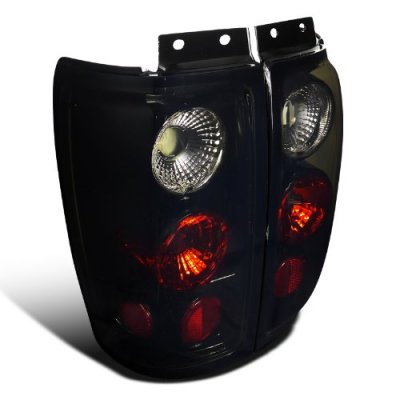 Ford Expedition 1997-2002 Black Smoked Altezza Tail Lights