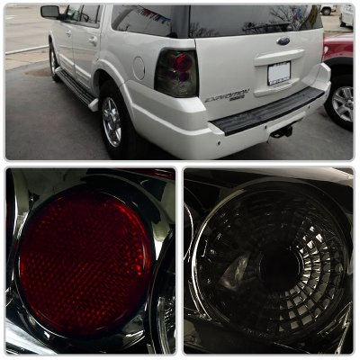 Ford Expedition 2003-2006 Smoked Altezza Tail Lights