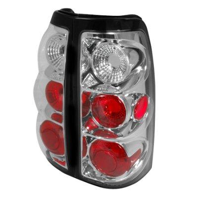 Chevy Silverado 2003-2006 Clear Altezza Tail lights