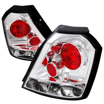 Chevy Aveo Hatchback 2004-2008 Clear Altezza Tail Lights