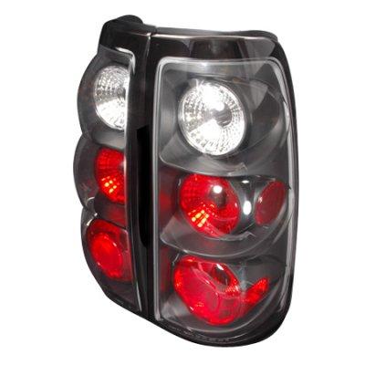 Chevy Silverado 2003-2006 Black Altezza Tail lights