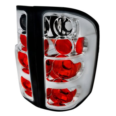 Chevy Silverado 2500HD 2007-2014 Clear Altezza Tail Lights