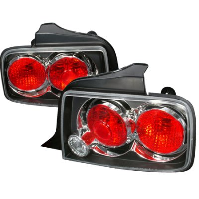 ford mustang 2005 2009 black altezza tail lights. Black Bedroom Furniture Sets. Home Design Ideas