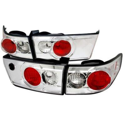 Honda Accord Sedan 2003-2005 Clear Altezza Tail Lights