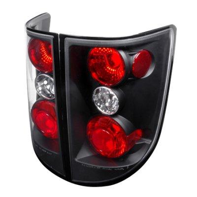 Honda Ridgeline 2006-2010 Black Altezza Tail Lights