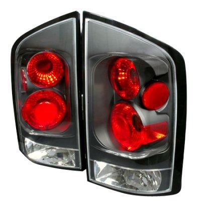 Nissan Armada 2004-2012 Black Altezza Tail Lights