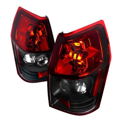 Dodge Magnum 2005 2008 Red And Black Altezza Tail Lights
