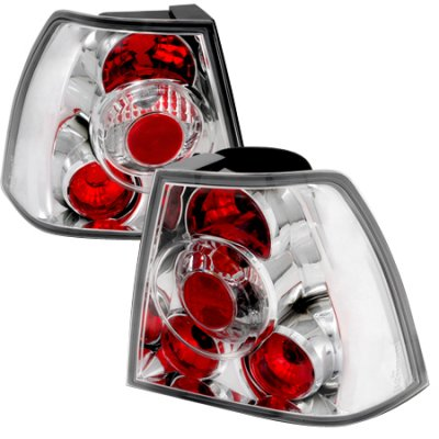 VW Jetta 1999-2004 Clear Altezza Tail Lights