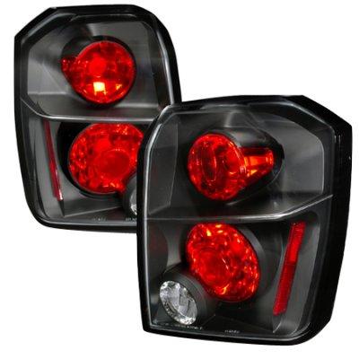 Dodge Caliber 2007-2013 Black Altezza Tail Lights