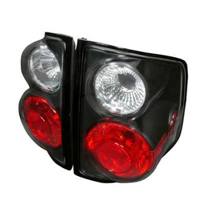 Chevy S10 1994-2004 Black Altezza Tail Lights