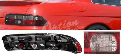Lexus SC300 1995-1999 Smoky Red Euro Tail Lights