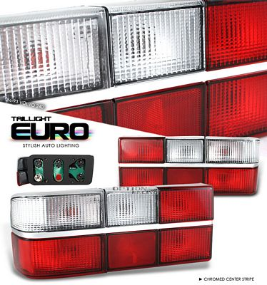 Volvo 240 1981-1993 Clear Euro Tail Lights