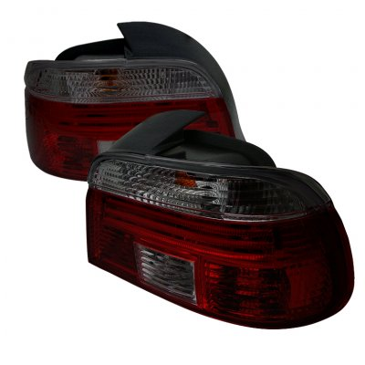 BMW 5 Series 1997-2000 Smoked Euro Tail Lights