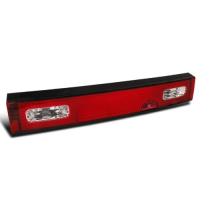 Nissan 240SX Hatchback 1989-1994 Trunk Tail Light Red and Clear