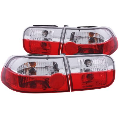 Honda Civic 1992-1995 Crystal Tail Lights