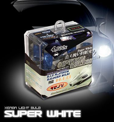 JDM Quartz Super White H4 HID Light Bulb