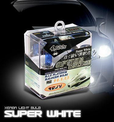 JDM Quartz Super White H11 HID Light Bulb