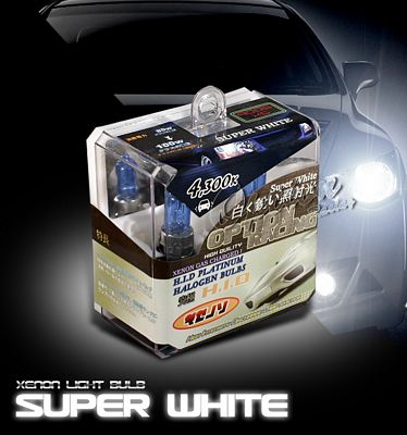 JDM Quartz Super White 9005 HID Light Bulb