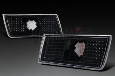 Chrysler 300 2005-2010 Black Side Marker Lights