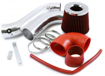 Dodge Charger V6 Auto 2006-2009 Cold Air Intake with Red Air Filter