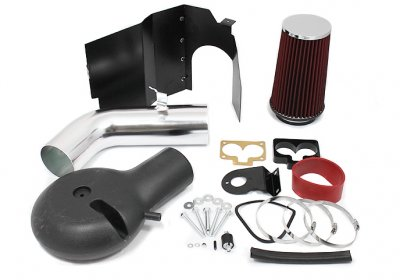 Dodge Durango V8 1998-2000 Cold Air Intake with Heat Shield and Red Filter