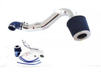 Honda Civic Si 2006-2011 Polished Cold Air Intake with Blue Air Filter