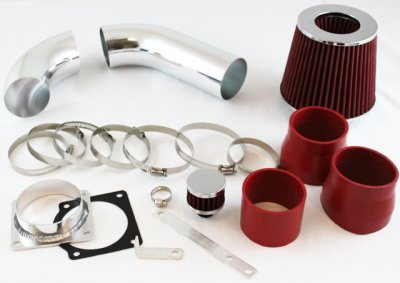 Ford Explorer V6 2001-2003 Cold Air Intake with Red Air Filter