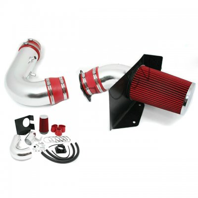 Ford F150 V8 1997 2003 Cold Air Intake With Heat Shield And Red Filter