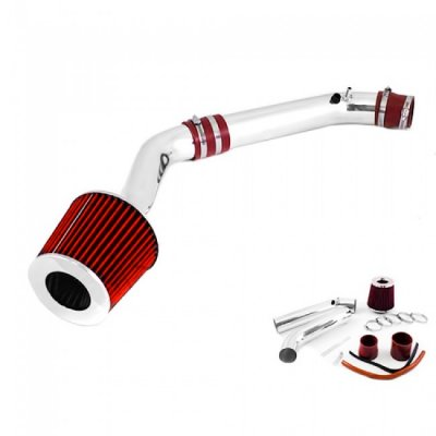 Honda Civic 1999-2000 Cold Air Intake with Red Air Filter