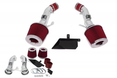 2013 Nissan 370Z V6 Cold Air Intake with Heat Shield and Red Filter