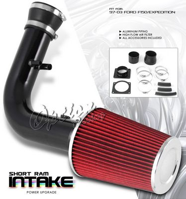 Ford Expedition 1997-2002 Black Short Ram Intake System